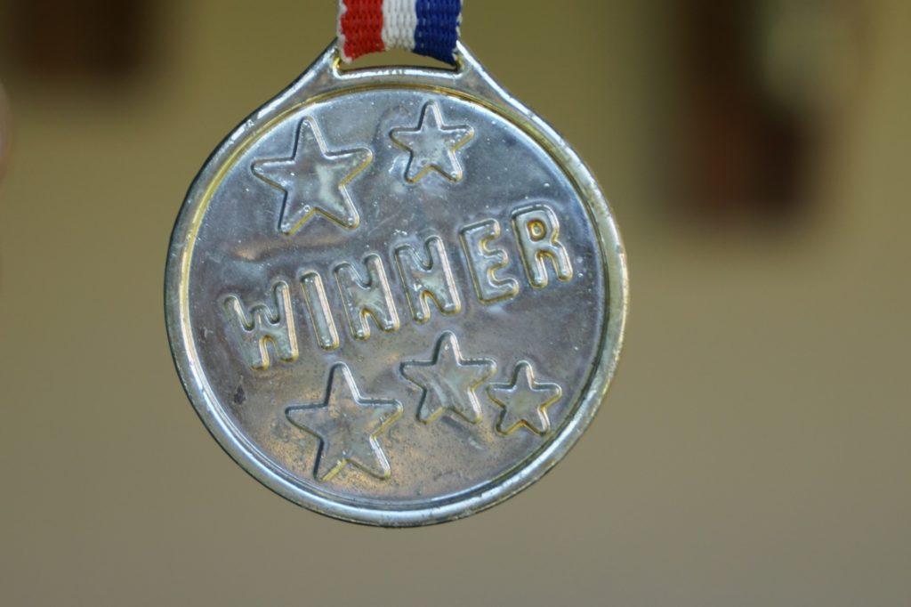 Medaille Sieger silber