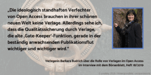 Barbara Open Access Börsenblatt