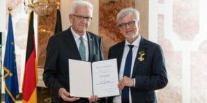 Verleihung des Verdienstordens des Landes Baden-Württemberg