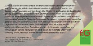 Zitat FuG Zeitschrift für Fußball und Gesellschaft