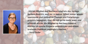 Nachwuchsbeirat Vera Taube Feedback