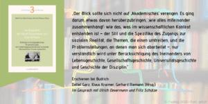 Im Gespräch mit Ulrich Oevermann und Fritz Schütze 3