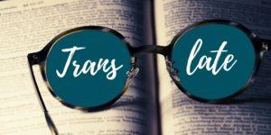 Übersetzung Brille Buch