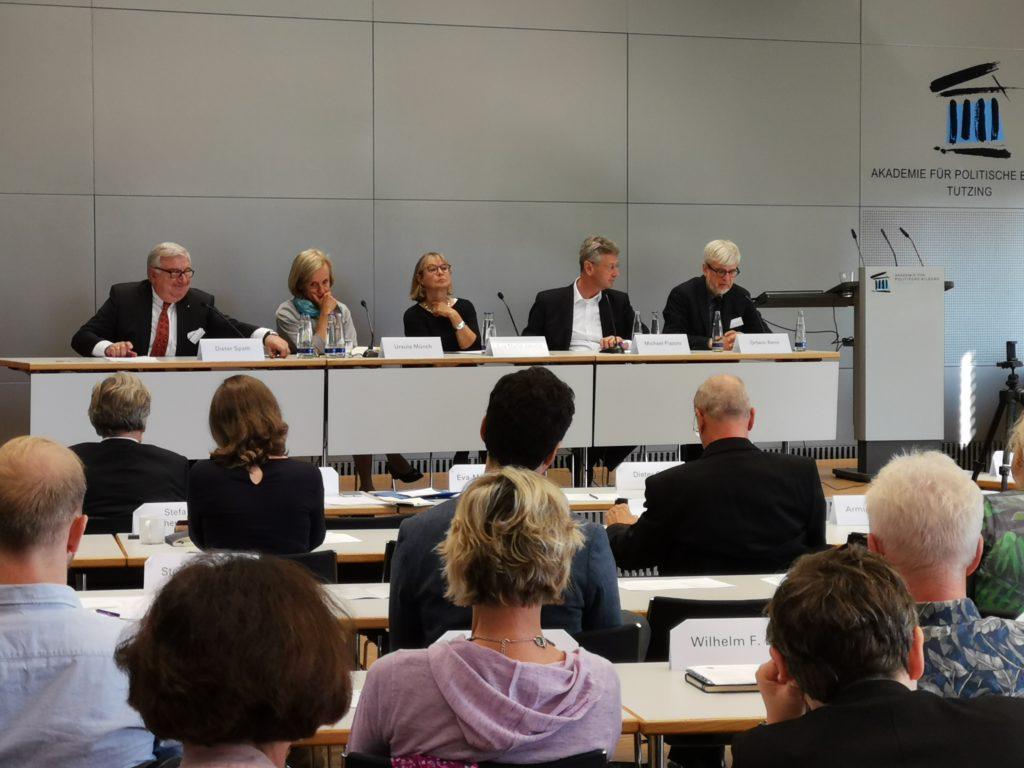 Diskussion Ortwin Renn Gefühlte Wahrheiten, Akademie für Politische Bildung Tutzing © Stefanie Bucher
