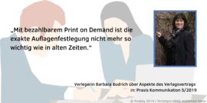 Barbara Budrich Praxis Kommunikation 5 2019-2