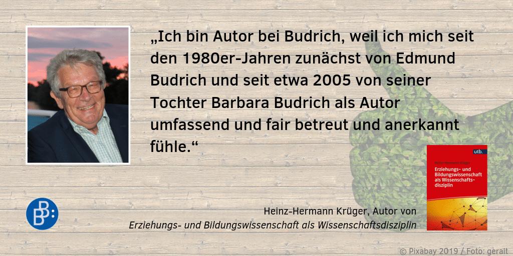 Feedback Krüger, Heinz-Hermann
