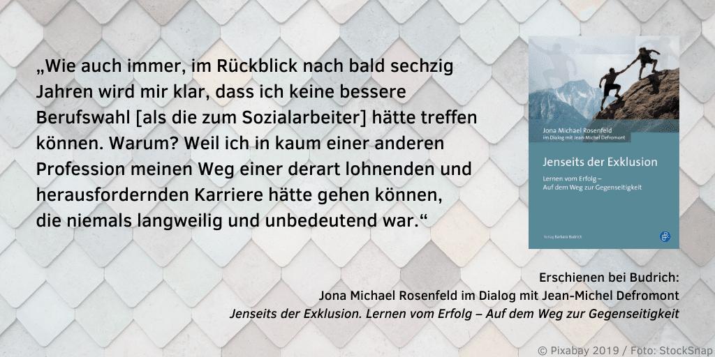 Rosenfeld Jenseits der Exklusion Zitat 2