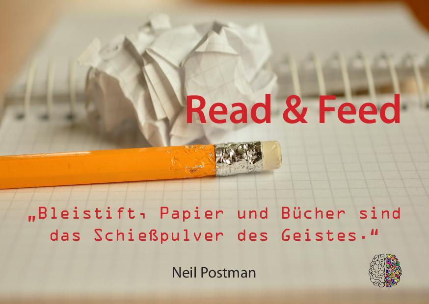 Postkarte read & feed