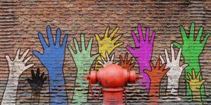 Hände Graffiti © Pixabay 2020 / Foto: thewet_new