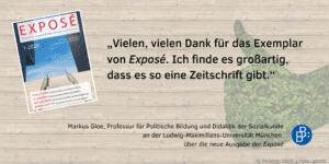 Feedback Exposé Markus Gloe 2
