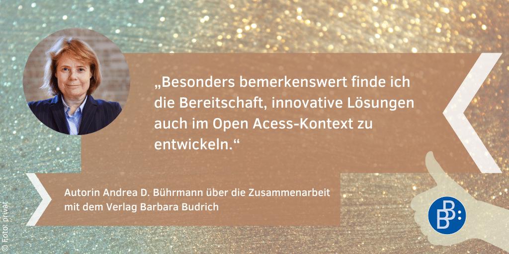 Bührmann, Andrea Feedback