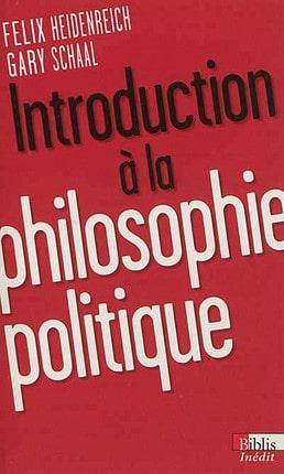 Heidenreich Schaal: Philosophie politique