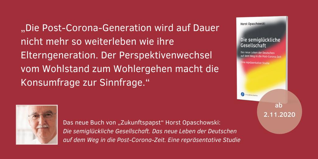 Horst Opaschowski Die semiglückliche Gesellschaft 10