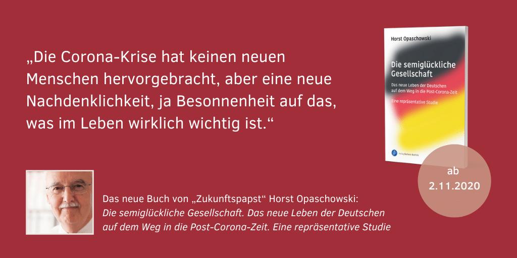 Horst Opaschowski Die semiglückliche Gesellschaft 9