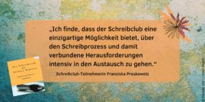 Feedback Schreibclub Franziska Proskawetz 1