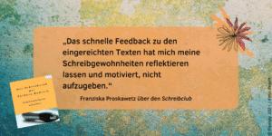 Feedback Schreibclub Franziska Proskawetz 2