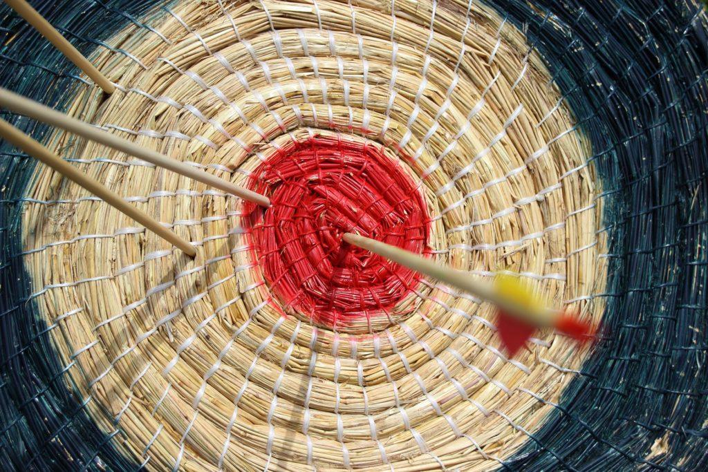 Zielscheibe © Pixabay 2021 / Foto: meineresterampe