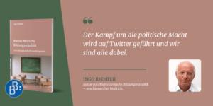 Ingo Richter Zitat Meine deutsche Bildungsrepublik 4
