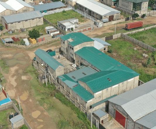 Ofenfabrik Nigeria © atmosfair