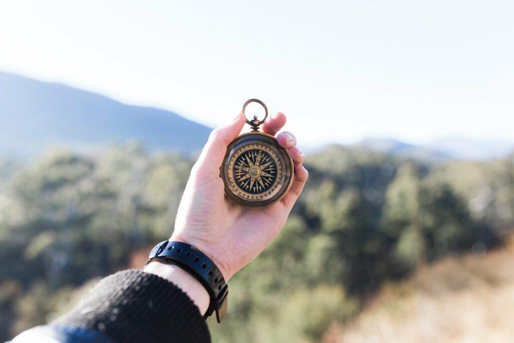 Kompass © Pixabay 2021 / Foto: Pexels