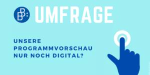 Umfrage Programmvorschau Herbst 2021 Verlag Barbara Budrich