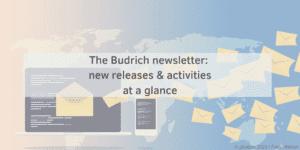 Newsletter banner english Verlag Barbara Budrich
