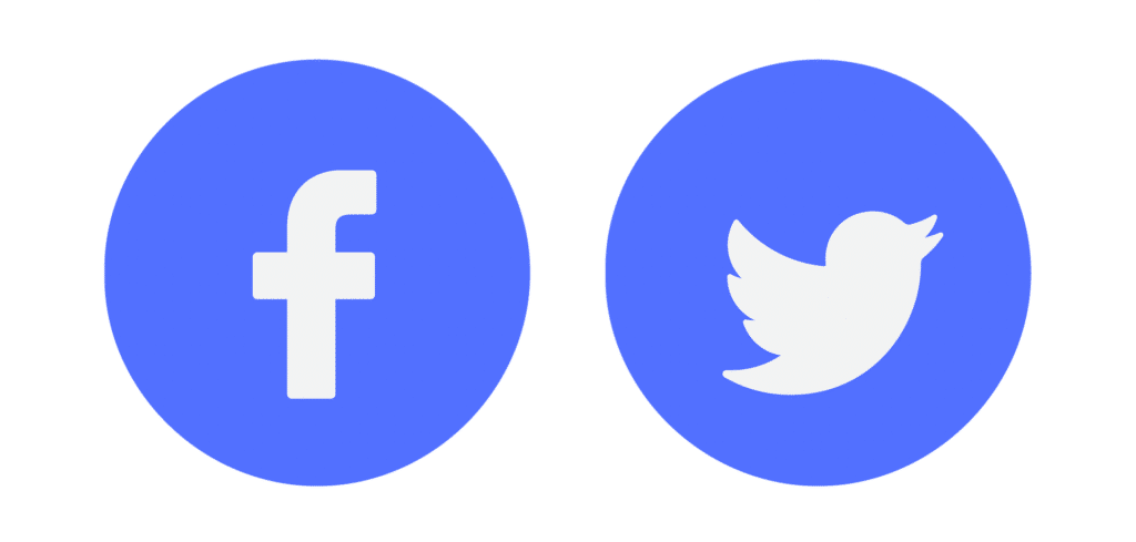 Icons Facebook Twitter