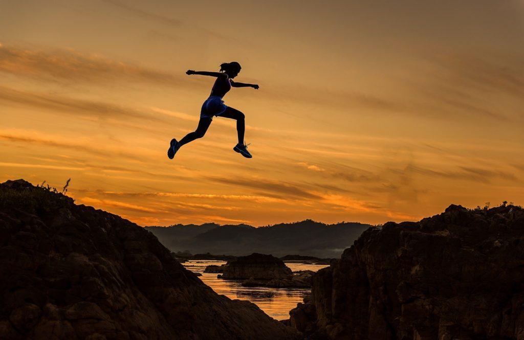 Jump © Pixabay 2020 / image: sasint