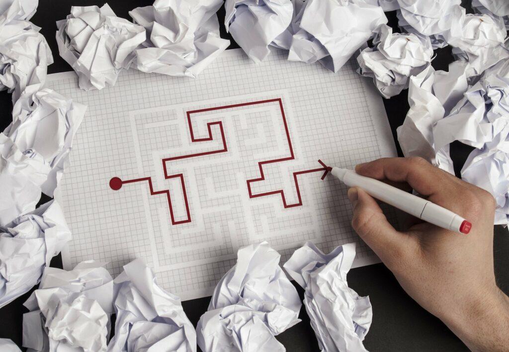 writing maze © Pixabay 2021 / image: Eluj